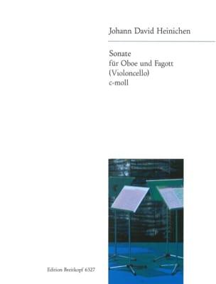 Johann David Heinichen - C-moll Sonata - Oboe und Fagott Violoncello - Sheet Music - di-arezzo.com