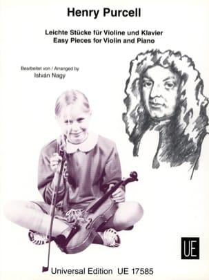 Leichte Stücke Henry Purcell Partition Violon - laflutedepan