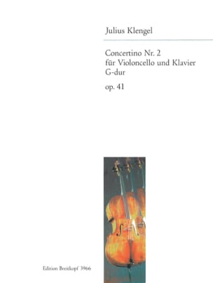 Julius Klengel - Concertino No. 2 G-Dur op. 41 - Sheet Music - di-arezzo.co.uk