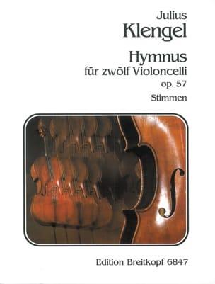 Julius Klengel - Hymnus op. 57 - Stimmen - Partition - di-arezzo.fr