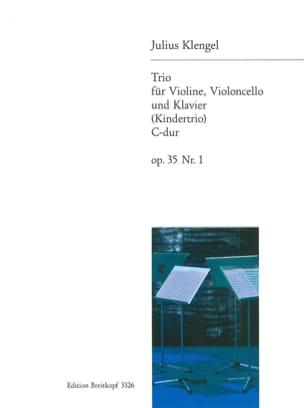 Julius Klengel - Kindertrio C-Dur op. 35 n° 1 - Partition - di-arezzo.fr