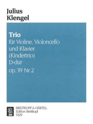 Julius Klengel - Kindertrio D-Dur op。 39°2 - 楽譜 - di-arezzo.jp