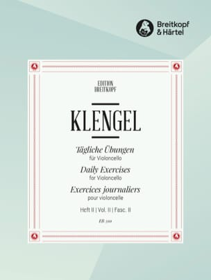 Julius Klengel - Tägliche Übungen - Heft 2 - Sheet Music - di-arezzo.co.uk
