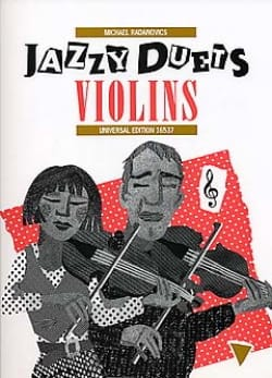 Michael Radanovics - Jazzy Duets Violins - Partition - di-arezzo.fr
