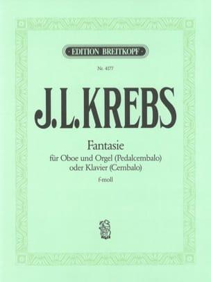 Johann L. Krebs - Fantaisie F-Moll (Fa Mineur) - Hautbois et Orgue - Partition - di-arezzo.fr