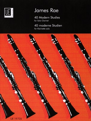 James Rae - 40 Modern Studies – Clarinet solo - Partition - di-arezzo.fr
