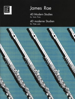 40 Modern studies - flute solo James Rae Partition laflutedepan