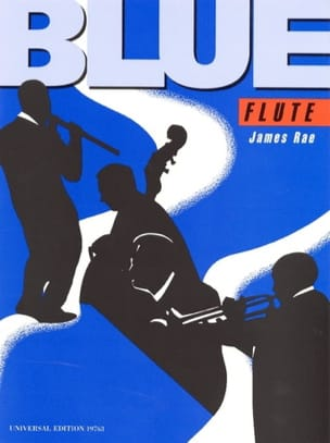Blue Flute James Rae Partition Flûte traversière - laflutedepan