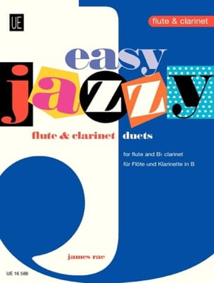 James Rae - Easy Jazzy Duets - Flute Clarinet - Sheet Music - di-arezzo.com