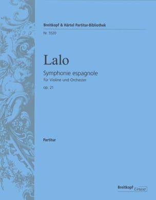 Edouard Lalo - Spanish Symphony Opus 21 - Sheet Music - di-arezzo.com