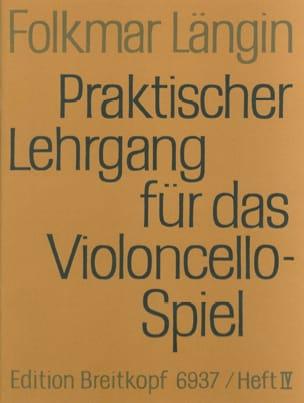 Folkmar Längin - Lehrgang Violoncellospiel - Heft 4 - Sheet Music - di-arezzo.com
