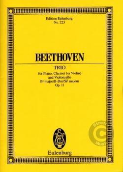 Klavier-Trio B-Dur, opus 11 - Ludwig van Beethoven - laflutedepan.com