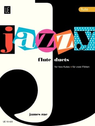 Jazzy Duets - 2 Flutes James Rae Partition laflutedepan