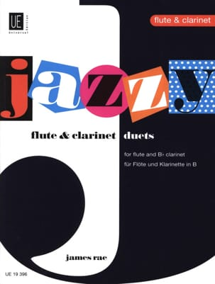 Jazzy Duets - James Rae - Partition - Duos - laflutedepan.com