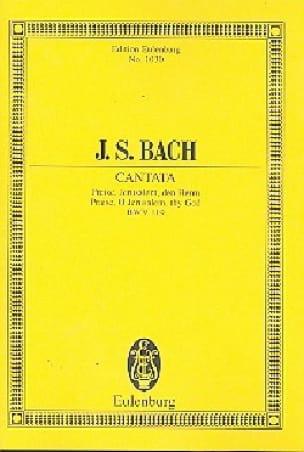 BACH - Freue dich, erlöste Schar. Kantate am Feste Johannes of the Täufers - Sheet Music - di-arezzo.co.uk