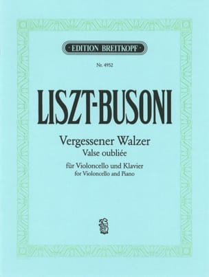 Vergessener Walzer - Liszt Franz / Busoni Ferruccio - laflutedepan.com