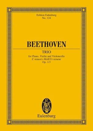 Klavier-Trio C-Moll Op.1 N°3 - BEETHOVEN - laflutedepan.com