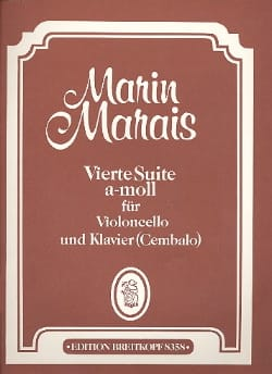 Vierte Suite a-moll - Cello Marin Marais Partition laflutedepan