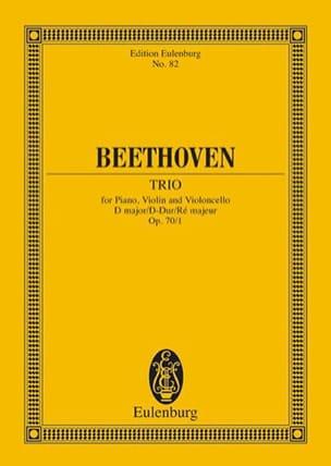 Klavier-Trio D-Dur - BEETHOVEN - Partition - laflutedepan.com