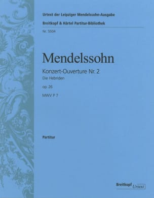 MENDELSSOHN - The Hebrides - Opening - Sheet Music - di-arezzo.com