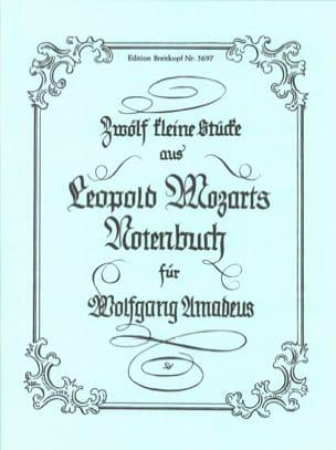 Leopold Mozart - 12 Kleine Stücke aus dem Notenbuch - Partition - di-arezzo.fr