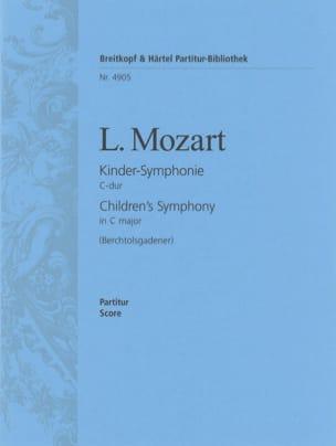Leopold Mozart - Kinder-Symphonie C-dur – Partitur - Partition - di-arezzo.fr