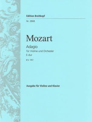 Wolfgang Amadeus Mozart - Adagio E-Dur KV 261 - Partition - di-arezzo.fr