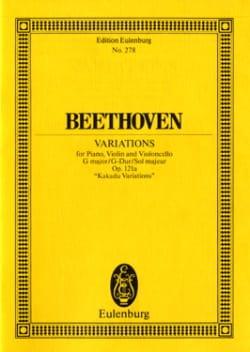 Ludwig van Beethoven - Klavier-Trio G-Dur - Partition - di-arezzo.fr