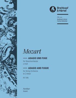 Adagio und Fuge c-moll - MOZART - Partition - laflutedepan.com