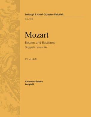 MOZART - Bastien und Bastienne - Sheet Music - di-arezzo.com