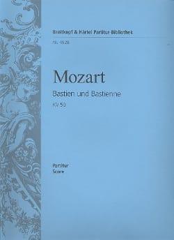MOZART - Bastien und Bastienne KV 50 (46b) - Partitur - Partition - di-arezzo.fr