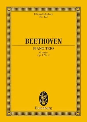BEETHOVEN - Klavier-Trio G-Dur - Partition - di-arezzo.fr