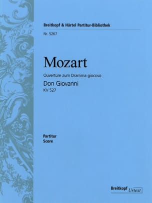 MOZART - Don Giovanni, Open House KV 527 - Partitur - Sheet Music - di-arezzo.com