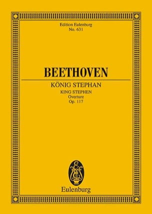 BEETHOVEN - König Stephan - Partition - di-arezzo.fr