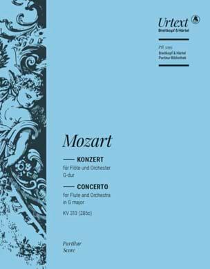 Wolfgang Amadeus Mozart - Flötenkonzert Nr. 1 G-Dur KV 313 – Partitur - Partition - di-arezzo.fr