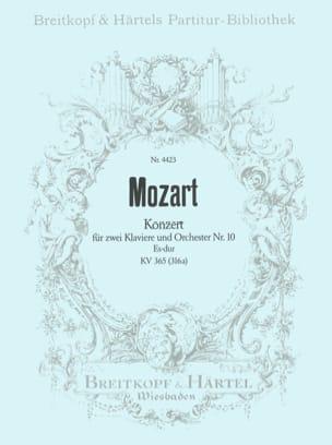 Wolfgang Amadeus Mozart - Konzert Nr. 10 für 2 Klaviere Es-Dur KV 365 – Partitur - Partition - di-arezzo.fr