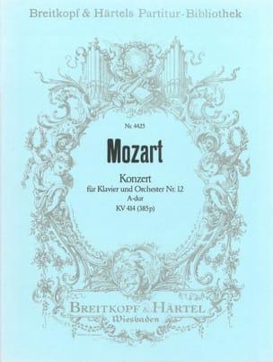 Klavierkonzert Nr. 12 A-Dur KV 414 – Partitur - laflutedepan.com