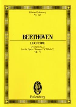 Leonore Nr. 2 C-Dur - BEETHOVEN - Partition - laflutedepan.com