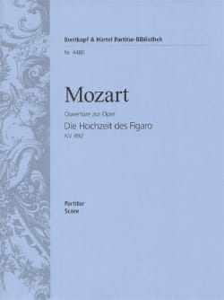 MOZART - The Hochezeit des Figaro, Ouverture - Partitur - Sheet Music - di-arezzo.co.uk