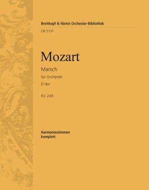 MOZART - Marsch D-hard KV 249 Haffner - Sheet Music - di-arezzo.com