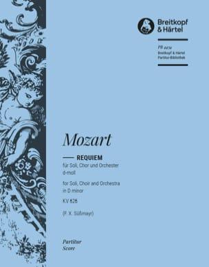 MOZART - Requiem d-moll KV 626 - Partitur - Partitura - di-arezzo.it