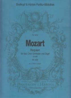 MOZART - Requiem d-moll KV 626 - Partitur - Partition - di-arezzo.fr