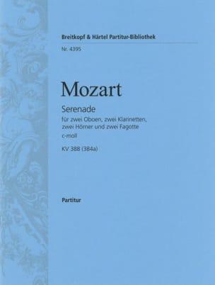 Wolfgang Amadeus Mozart - Serenade c-moll KV 388 – Partitur - Partition - di-arezzo.fr