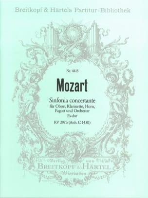 Wolfgang Amadeus Mozart - Sinfonia Concertante Es-Dur KV 297b – Partitur - Partition - di-arezzo.fr