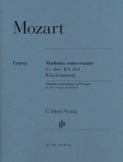 Wolfgang Amadeus Mozart - Sinfonia Concertante Es-dur KV 364 - Partition - di-arezzo.fr