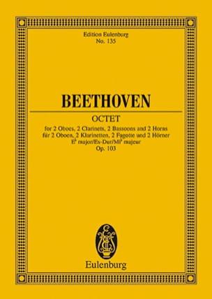 BEETHOVEN - Oktett Es-Dur Mib M. - Driver - Sheet Music - di-arezzo.co.uk