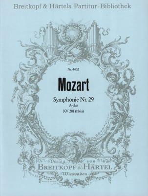 Wolfgang Amadeus Mozart - Symphonie, Nr. 29 A-Dur KV 201 – Partitur - Partition - di-arezzo.fr