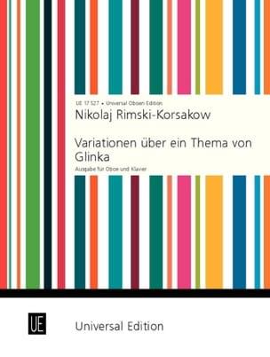 Variationen über ein Thema von Glinka - Oboe Klavier laflutedepan