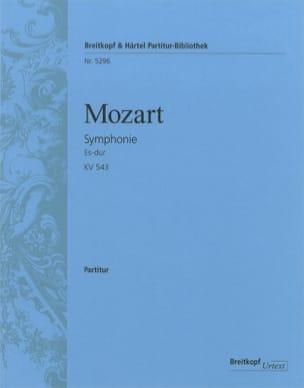 Wolfgang Amadeus Mozart - Symphonie Nr. 39 Es-Dur KV 543 – Partitur - Partition - di-arezzo.fr