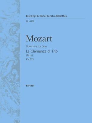 MOZART - La Clemenza di Tito - Ouvertüre KV 621 - Partitur - Partition - di-arezzo.fr
